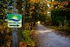 Bike Path Nicolet Bay at Peninsula, Door County Wisconsin