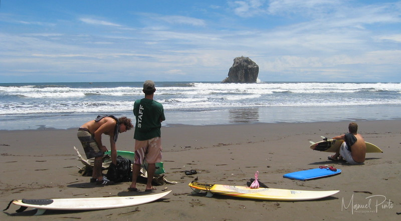 Preparing for witch's Rock Surf!