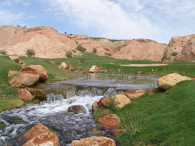 Creek on hole #17