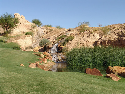 Waterfall on Hole #1