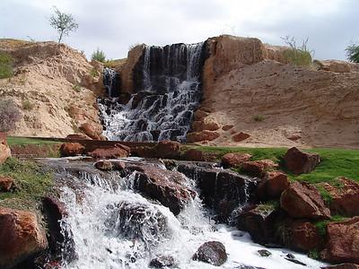 Hole # 18 Waterfall