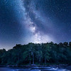 Milky Way at Wolf Rapids on Hwy A