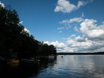 Clouds Over Wollaston Lake