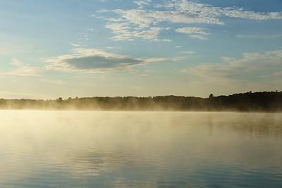 Mist Over Wollaston Lake