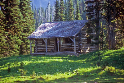 Ranger Cabin at Indian Henry's Hunting Ground