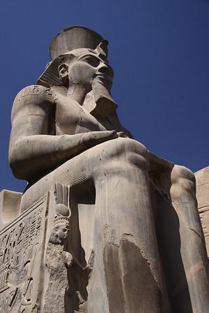 Ramses II Statue at Luxor