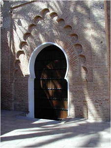 ... and a peacefully shaded doorway.