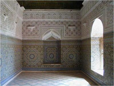 An interior room.