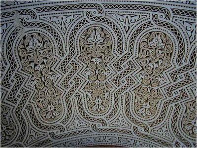 Classical Moorish decoration.