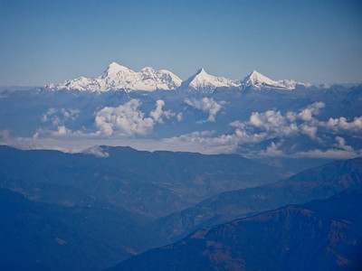 Everest in the background.