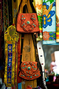 In the small market there were native handicrafts for sale. Since there isn't much of an external tourist trade, the market felt like it was oriented to travelers from within the country, or possibly from india and Tibet. It is possible to drive here from both places and to take a bus.
