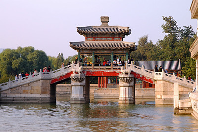 "Speaking of World Heritage sites, the Summer Palace in Beijing is another one. To be candid, by this time I was on ""palace overload."" I am pretty sure I under appreciated this one. I am sure it was fantastic.  I am sure there are treasures here to be seen no where else in the world. And I am sure I appreciated it mostly as a pleasant place to spend a quiet afternoon."