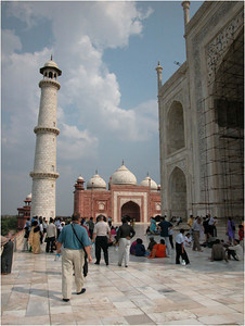 Once built, the Taj Mahal was well maintained until the 18th century when it was looted by th Jats, Marathas and the British of the East India Company. It was put up for auction for the value of its marble but the auction failed. Since 1861, it has been restored and is again being lovingly maintained.