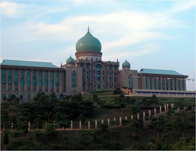 Here in Putrajaya is the Prime Minister's office building.