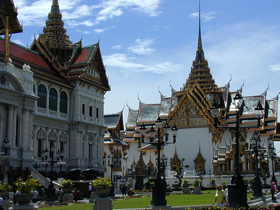 """The Grand Palace is an """"inner city"""" landmark containing multiple buildings detailed with highly decorative architecture. Also situated in the Grand Palace enclave is the Royal Thai Decorations and Coin Pavilion which features royal regalia, medals and coins dating to the early 11th century."""