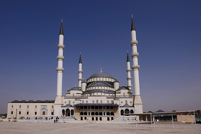 Kocatepe Mosque: I have traveled quite a bit in Christian countries and frequently visited churches and cathedrals. Having visited mosques in Morocco, Egypt, and now Turkey, I find them every bit as inspirational as a Christian cathedral.