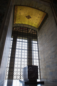 Ataturk's Mausoleum: And it is of similarly grand scale although more modern in design.