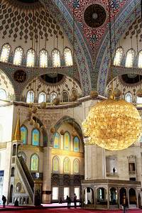"Kocatepe Mosque: I was talking with a Turk who was less than impressed with this new Mosque. He said, ""They've been designing mosques the same way for 400 years. You'd think after spending all this money on a new one, it could be a newer more modern design."""