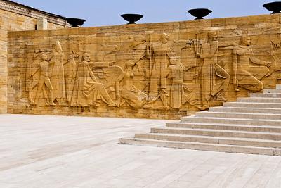 Ataturk's Mausoleum: And like Jefferson, Ataturk has an impressive Mausoleum in Ankara.