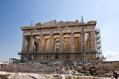 Parthenon: The Parthenon is said to be the most architecturally perfect structure inthe West.