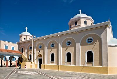 Kos: A local church.