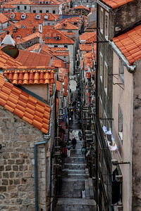 The other one of my two favorite photos of Dubrovnik's streets.
