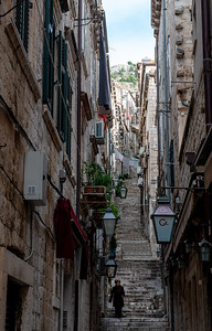 One of my two favorite photos of Dubrovnik's streets.