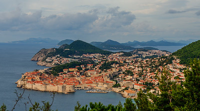 "Dubrovnik and its ancient harbor. Many, well most, major cities were utterly destroyed in the 1990's, first by siege of Serbia's and Montenegro's soldiers and then later by US and UN ""peacekeeping"" efforts. They have largely been rebuilt to UNESCO world heritage standards. They 'look"" pre-war but everything works."