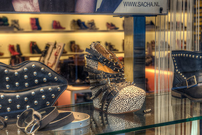 When we travel, it's always fun to look at fashions in the windows. Will these show up in America next year?
