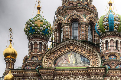 Church of the Spilled Blood - Sadly, not open for us to visit.
