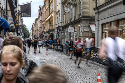 Stockholm was pretty messed up by a marathon race while we were there ... but every situation offers an opportunity to shoot something interesting.
