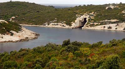WWII Submarine Base - Now Abandoned