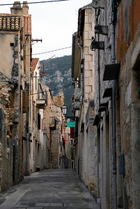 Komiza City Streets