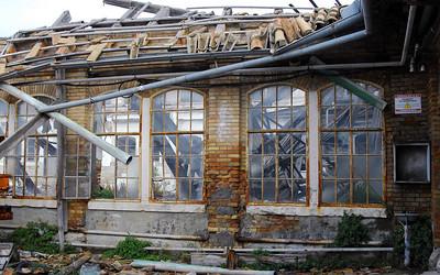 Komiza Building Under Renovation