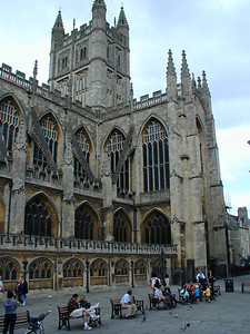 For me, the real treasure of Bath is the Cathedral.