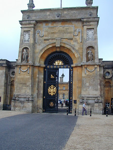 And the impressive main gate.