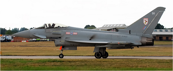 The Eurofighter Typhoon is used by Italy, Germany, Spain and UK. It is a Mach 1.6 twin engine capable of carrying 8 tons of ordinance.