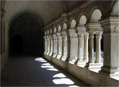 Inside, the abbey is beautiful.