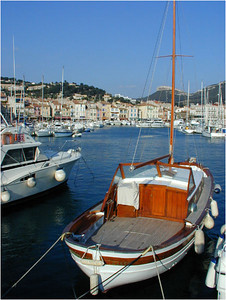 The harbor is small and tight quarters for boats navigating to find a slip. Today, Cassis is a favorite French resort, sort of a poor man's St. Tropez. It's tucked into the limestone hills too far for a day trip from Nice but close enough to Marseilles to prosperous.