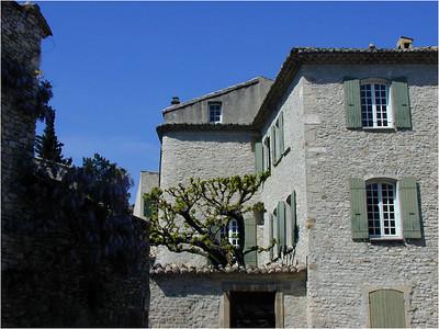 ... stone houses ...