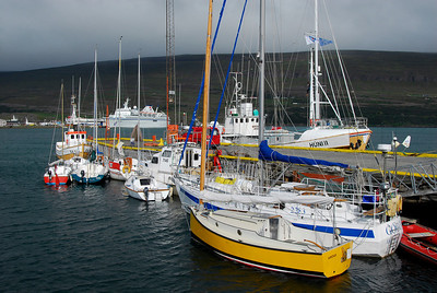 Akureyri: Speaking of boats and fishermen, the harbor was really interesting.