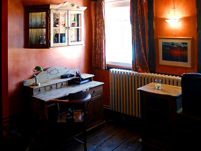 Saudarkrokur: We found our hotel and found that it is the oldest hotel still operating in Iceland. The Hotel Tindastoll was built in Norway in 1820, disassembled, shipped here, and reassembled in 1884.