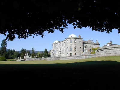 My favorite picture of the palace at Powerscourt.