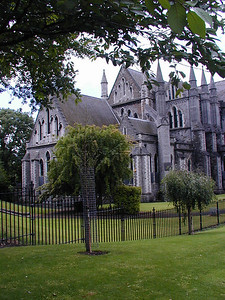 St. Patrick's Cathedral is one of the main attractions in Dublin. Beautiful outside and in.