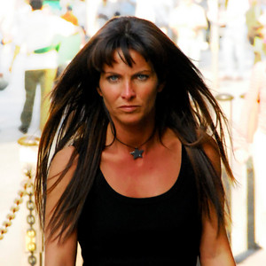 Women: One of the scariest people I've seen in Italy!