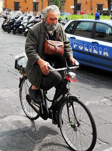 Folks on Bikes