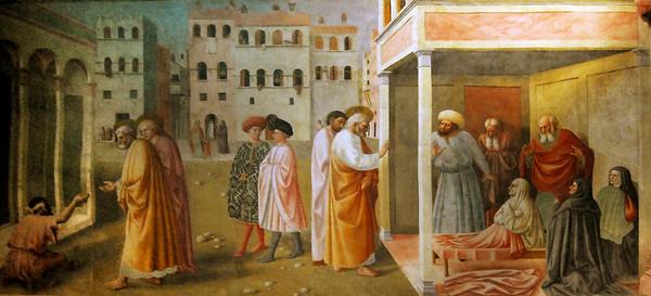 Santa Maria del Carmine: Brancacci Chappel Fresco