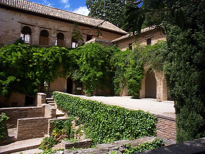 "The Generalife, loosely translated from the Moorish phrase, ""the garden of lofty paradise"" was originally built in the 1300's. Visit in the late Spring because the flowers are in bloom and they are spectacular."