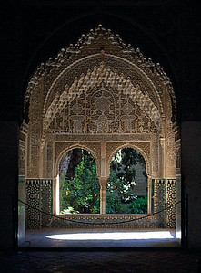 Modest materials were used to build the Alhambra but they were worked superbly. In recent times, it has undergone extensive restoration and its delicate craftsmanship dazzles the eye.