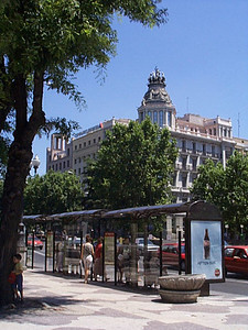 Madrid is a clean, modern city. Mixing traditional architecture ...